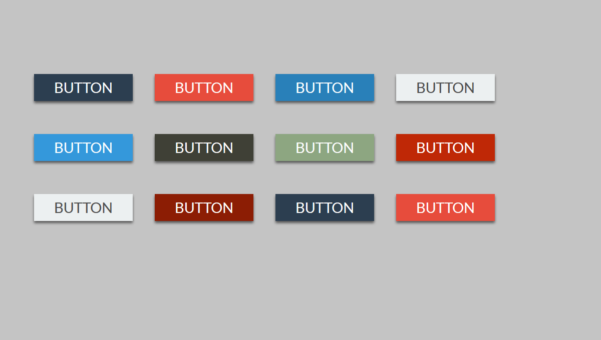 Demo image: Flat Buttons