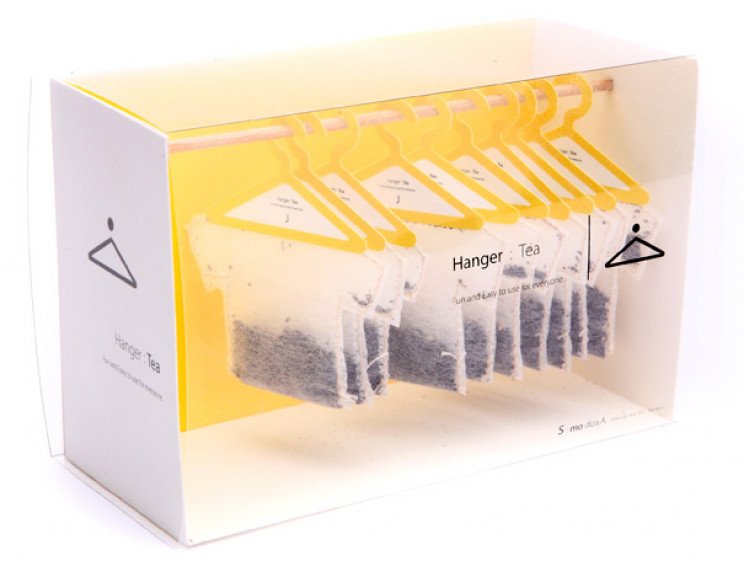 innovative packaging hanger tea