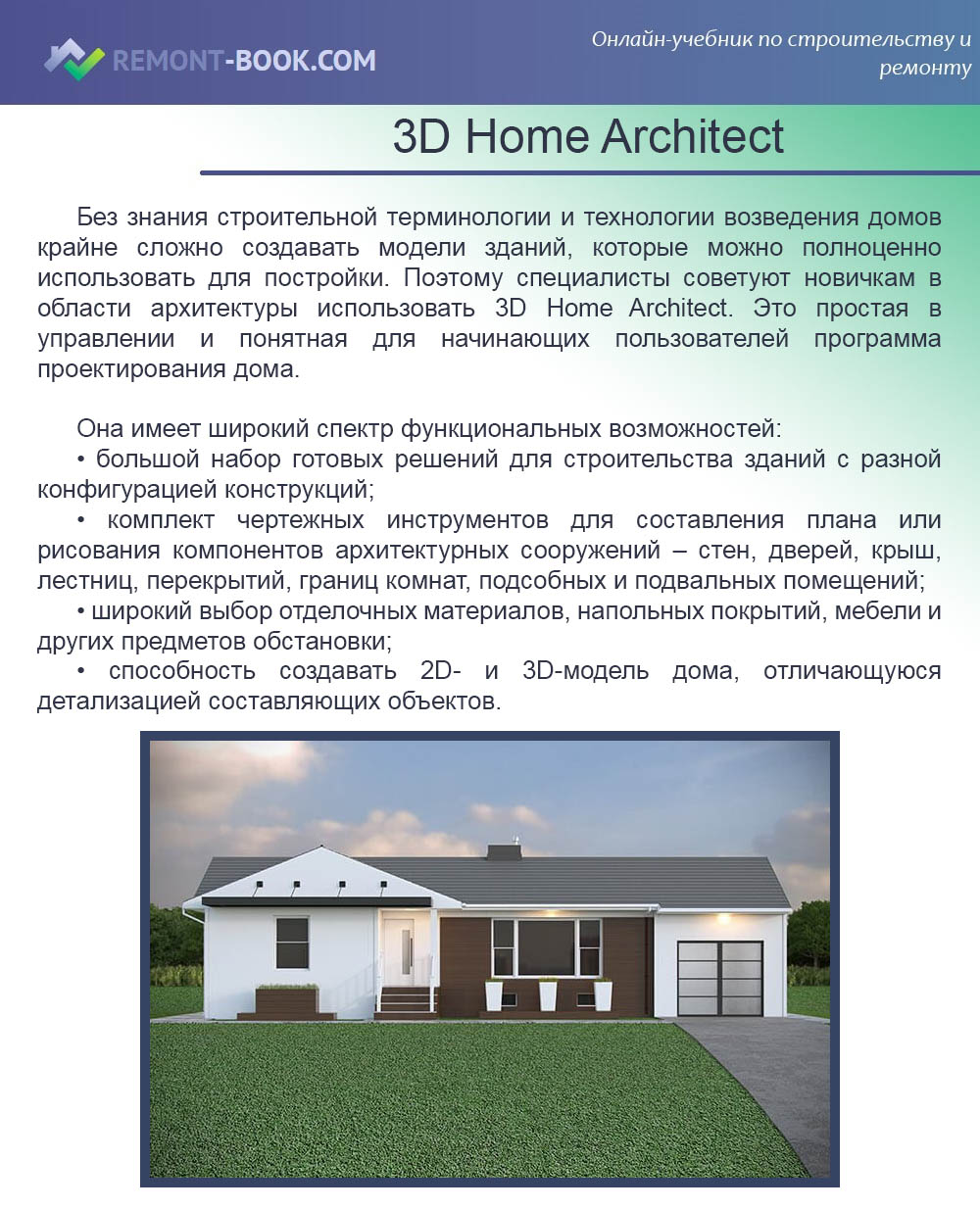 3D Home Architect