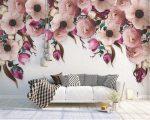 Обои расцветка – 99 фото обоев с цветами в интерьере – многообразие рисунков и видов