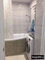 Интерьеры маленьких ванных комнат фото в квартире – Маленькая ванная комната: фото реальных интерьеров