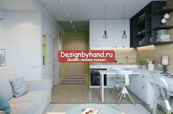 Дизайны студий 25 кв м – Дизайн студии 25 кв м: фото интерьеров реальных квартир