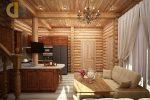 Дом из дерева внутри – 50 фото + 3 видео