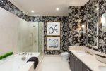 Обои для ванных комнат – современные варианты дизайна, 70 фото