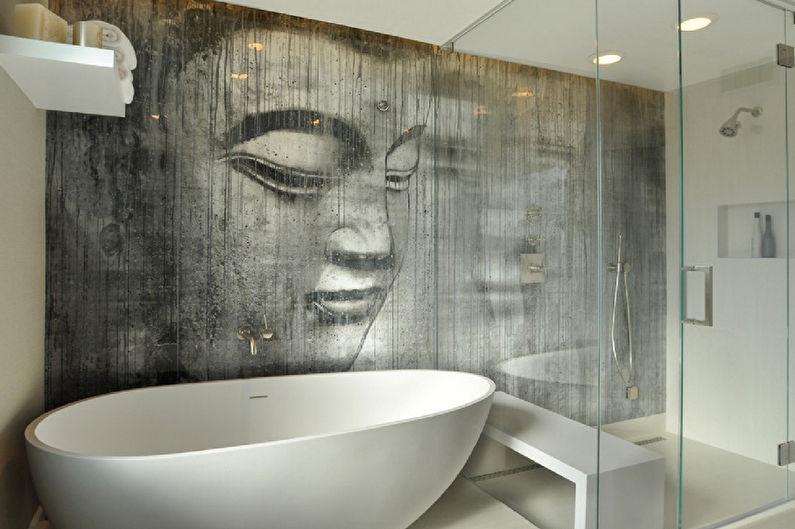 Варианты отделки стен в ванной – 7 вариантов отделки стены в ванной комнате кроме плитки: 50 фото