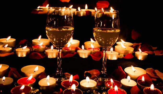 Фото романтического ужина при свечах – Ой!