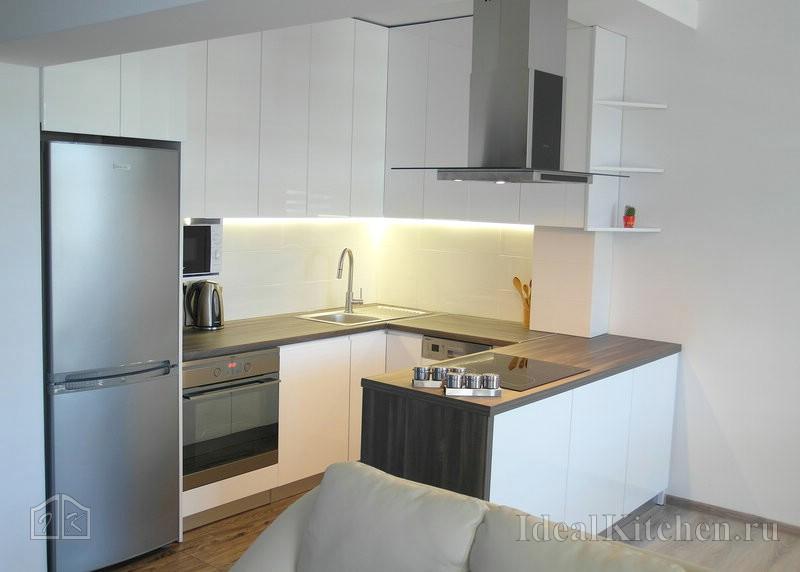 Идеи кухонного гарнитура – Кухни в современном стиле — 187 реальных фото