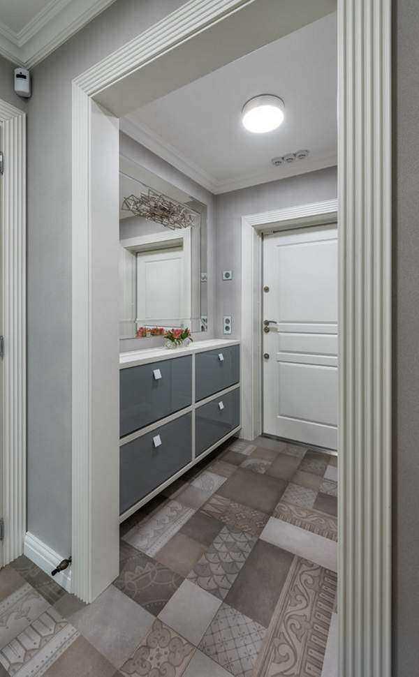 Обои в узкую прихожую в квартире – идеи для узкого длинного коридора в квартире или прихожей — Компания «Труд» Тула — строительный склад-магазин