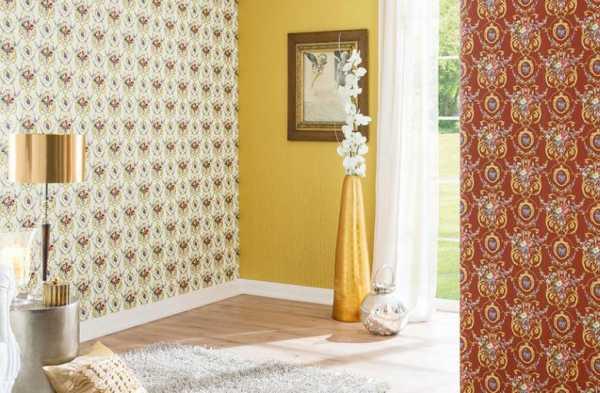 Обои двух цветов - 50 фото примеров дизайна и сочетание | 393x600